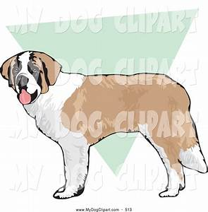 Brown And White Dog Clipart