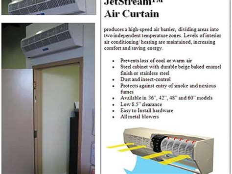 Berner Air Curtain Troubleshooting by Industrial Air Curtain Rooms