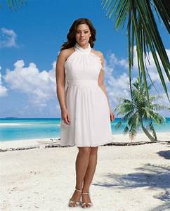 Plus size beach wedding dresses 03 for Beach plus size wedding dresses