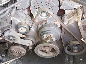 1997 Mercury Grand Marquis Tension Pulley Change