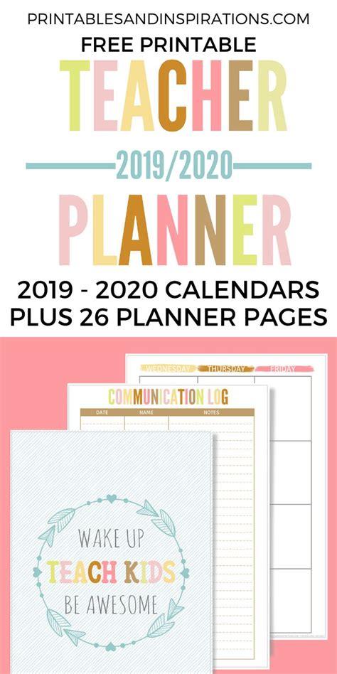 teacher planner  printable printables