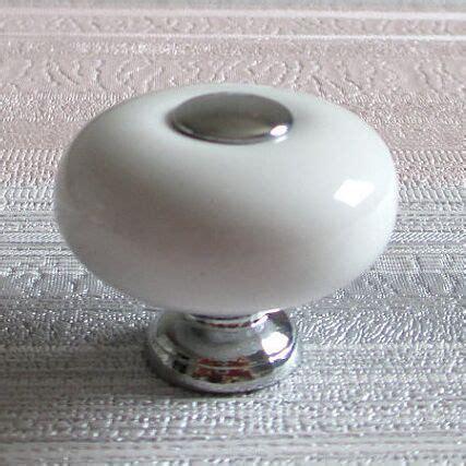 silver kitchen cabinet knobs 32mm white dresser knob handles ceramic kitchen cabinet 5215