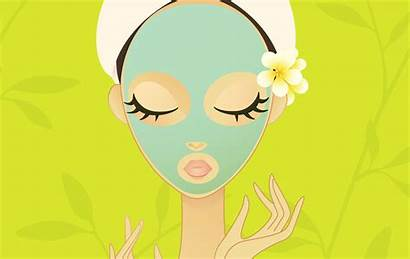 Beauty Clipart Treatment Salon Skin Therapy Skincare