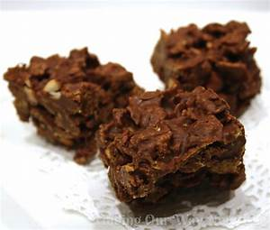 Crispy Chocolate Bars: #Recipe - Finding Our Way Now