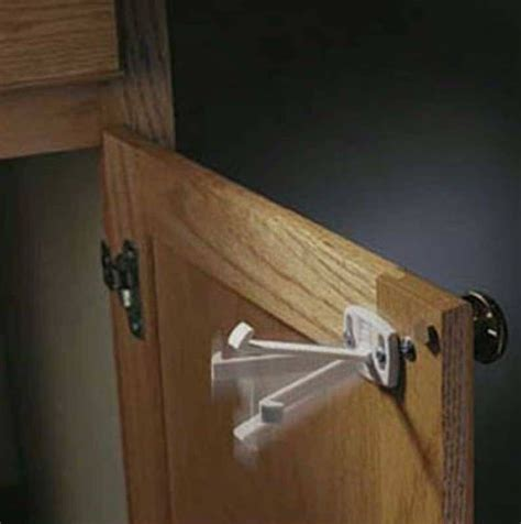 child proof locks for cabinet doors 2 each kidco s333 cabinet door drawer child proof kid safe