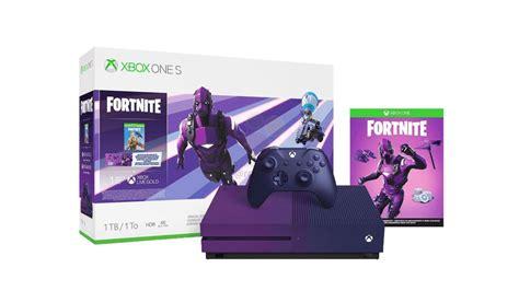 purple fortnite xbox   bundle   confirmed