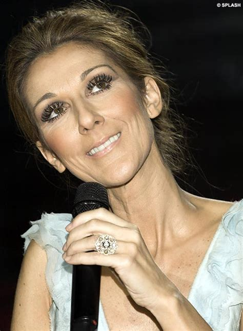 celine dion wedding ring skeletal celine dion stuns fans in final vegas show