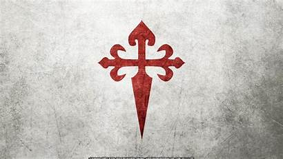 Cross Crusader Santiago Order James St Flag