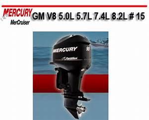 Mercury Mercruiser Gm V8 5 0l 5 7l 7 4l 8 2l   15 Manual