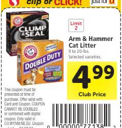 arm and hammer cat litter coupons printable coupons archives page 62 of 138 safeway