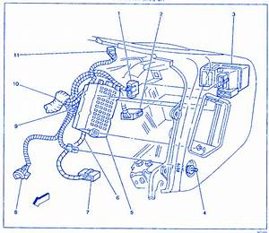 Daewoo Matiz Euro Iii 2003 Engine Compartment Electrical Circuit Wiring Diagram