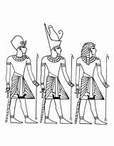 Coloring Pages Clothing Ancient Egyptian Clothes Fall Highland Printable Traditional Getcolorings Cattle Getdrawings sketch template