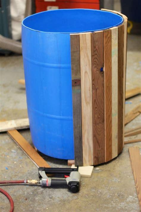 plastic barrel planter diy plastic barrel planter your projects obn