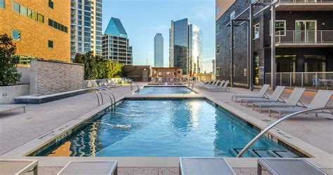 miro apartments  uptown dallas short term leases furnished
