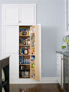 New home interior design kitchen pantry design ideas for Built in kitchen pantries