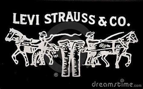 levi strauss jeans logo editorial stock photo image
