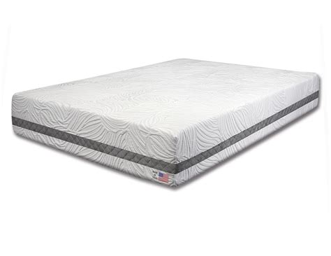 Size Memory Foam Mattress by Size 11 Quot Gel Infused Memory Foam Mattress Non Flip