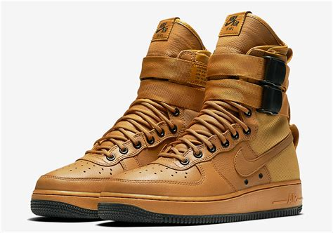nike sf af1 wheat release date info sneakernews com