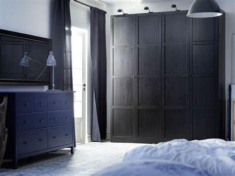 Pax Hemnes Kleiderschrank by Pax Black Brown Wardrobe With Hemnes Black Brown Doors And