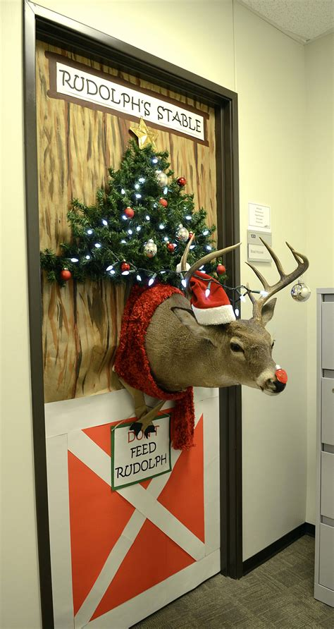 door decoration contest sparks new tti tradition a m transportation institute