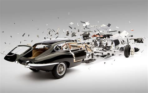 amazing jaguar parts look at these amazing exploded views of classic sports