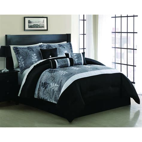 comforter set bedding  piece king size embroidered