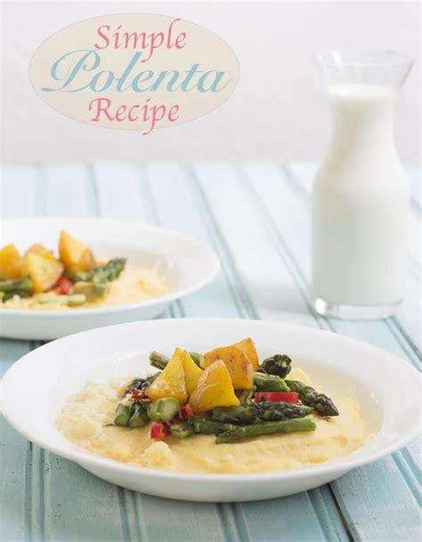 simple polenta recipe  beets healing tomato