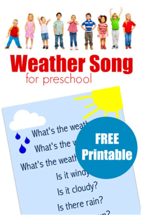 songs for preschool archives no time for flash cards 903 | weather song for preschool 266x406