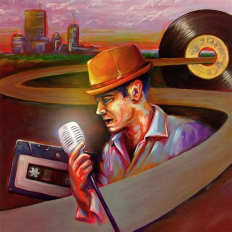 Oil Painting And Digital Album Cover Smartistic