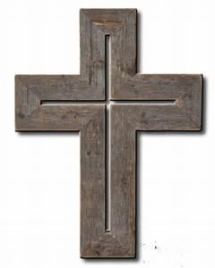 Barnwood Rustic Cross