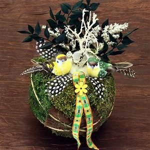Oster Deko Basteln : ostergestecke aus naturmaterialien 1001 ideen f r ostergestecke selber machen freshideen fr ~ Orissabook.com Haus und Dekorationen