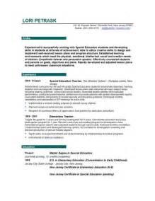resume exles for child care objectives resume certified teacher resume