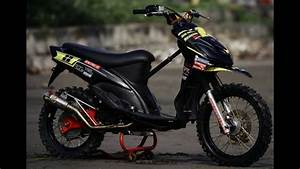 Video Modifikasi Motor Matik Yamaha Mio Modif Trail