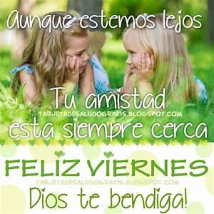 *Feliz viernes querida amiga!* Imágenes con Frases
