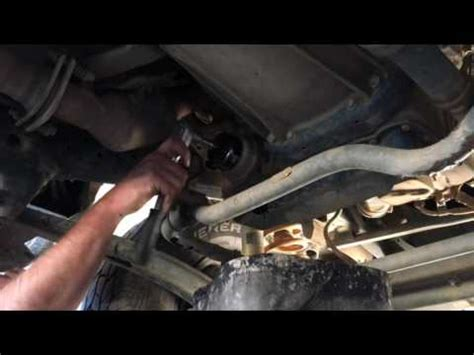change  vdj landcruiser oil filter youtube
