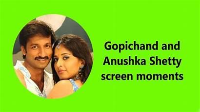 Anushka Shetty Lip Lock Gopichand