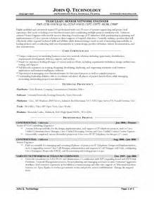 senior engineer resume tips senior network engineer resume