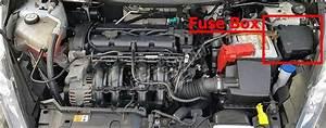 Fuse Box Diagram Ford Fiesta  2011