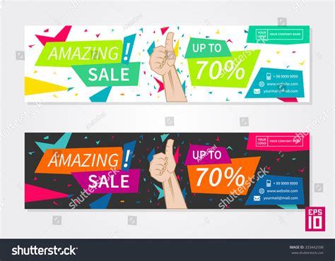 vector promotion banner amazing sale business stock vector 333442598 shutterstock