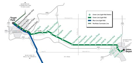 light rail mn green line minneapolis green line schedule