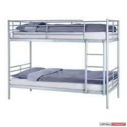 bunk bed ikea tromso with sultan foam mattress peaks