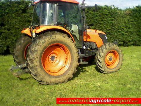 siege tracteur agricole occasion vendu kubota m9540 dthq tracteur agricole d