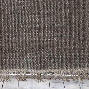 Tapis De Chanvre : tell me more tapis toile de chanvre gris 170x240cm tell me more petite lily interiors ~ Dode.kayakingforconservation.com Idées de Décoration