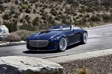 Mercedes-maybach 6 Cabriolet Concept Unveiled With An