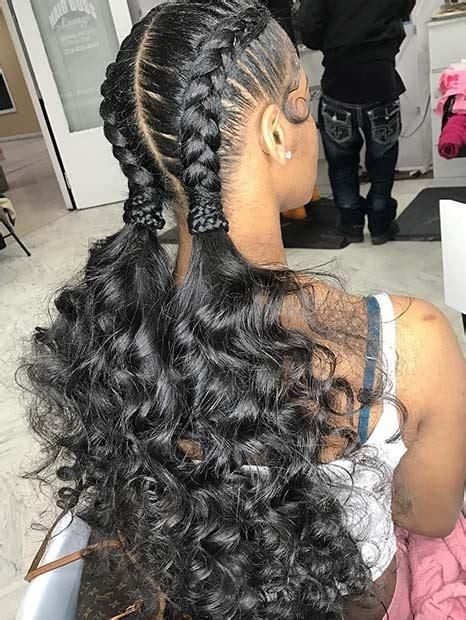 black braided hairstyles  copy   stayglam