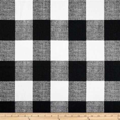 premier prints check black white discount designer fabric fabric com