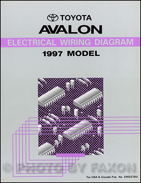 1998 Toyotum Avalon Wiring Diagram by 1997 Toyota Avalon Electrical Wiring Diagram Manual New