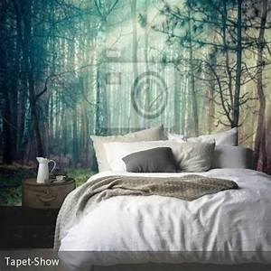 Fototapete wald im schlafzimmer v ggar pinterest deko for Fototapete wald schlafzimmer