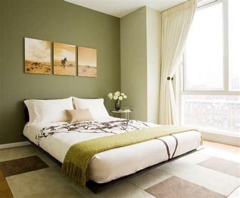 chambre verte déco chambre vert olive exemples d 39 aménagements