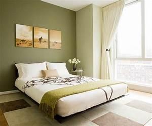 deco chambre vert olive exemples d39amenagements With quelle couleur pour le salon 9 deco chambre vert olive exemples damenagements